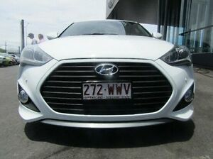 2013 Hyundai Veloster FS3 SR Coupe Turbo White 6 Speed Sports Automatic Hatchback Earlville Cairns City Preview