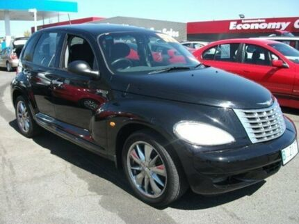 2004 Chrysler PT Cruiser PG MY2005 Classic Black 5 Speed Manual Wagon Invermay Launceston Area Preview