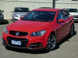 2013 Holden Commodore VF MY14 SS V Red 6 Speed Sports Automatic Sedan Diggers Rest Melton Area Preview