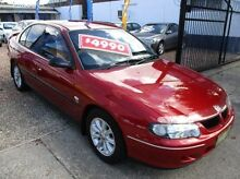2001 Holden Commodore VX Executive Burgundy 4 Speed Automatic Sedan Islington Newcastle Area Preview