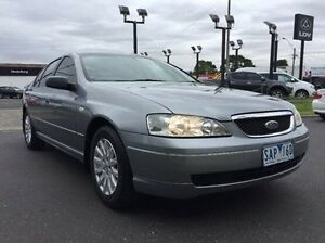 2002 Ford Fairmont BA Silver 4 Speed Automatic Sedan Heidelberg Heights Banyule Area Preview