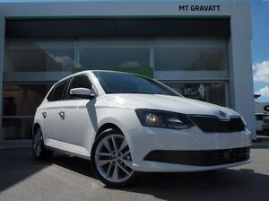 2017 Skoda Fabia NJ MY17 66TSI White 5 Speed Manual Hatchback Mount Gravatt Brisbane South East Preview