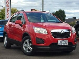 2015 Holden Trax Red Automatic Wagon Hoppers Crossing Wyndham Area Preview