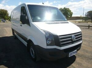 2013 Volkswagen Crafter White Manual Van Coburg North Moreland Area Preview