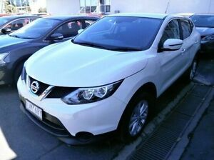 2016 Nissan Qashqai J11 TS White 1 Speed Constant Variable Wagon Blackburn Whitehorse Area Preview