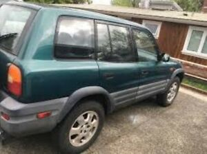 1996 Toyota RAV4 (4x4) Green & Silver 5 Speed Manual 4x4 Hardtop Caboolture Caboolture Area Preview