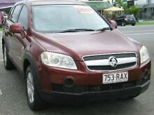 2007 Holden Captiva CG CX Maroon 5 SPEED Semi Auto Wagon Bungalow Cairns City Preview