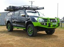 2012 Holden Colorado RG MY13 LTZ Crew Cab Black 6 Speed Sports Automatic Utility Singleton Singleton Area Preview