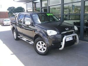 2009 Great Wall V240 K2 Super Luxury Black 5 Speed Manual Utility Invermay Launceston Area Preview
