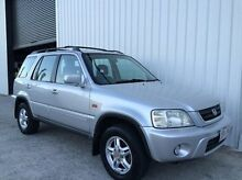1999 Honda CR-V (No Series) Sport 4WD Silver 5 Speed Manual Wagon Parkwood Gold Coast City Preview