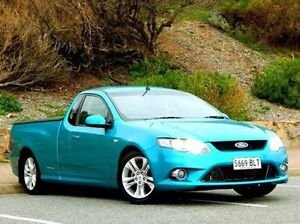 2008 Ford Falcon Green Sports Automatic Utility Christies Beach Morphett Vale Area Preview