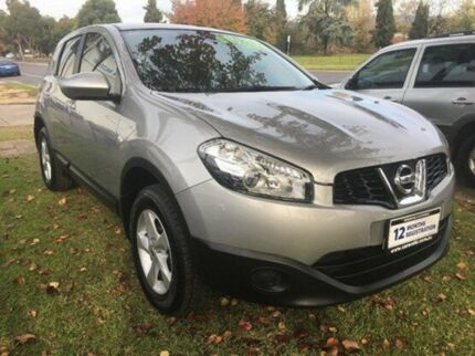 2011 Nissan Dualis J10 Series II MY2010 ST Hatch X-tronic Silver 6 Speed Constant Variable Hatchback Wodonga Wodonga Area Preview