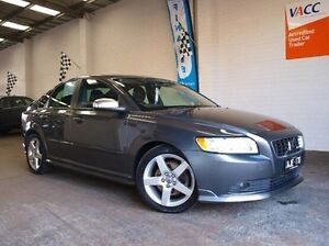 2009 Volvo S40 M Series MY09 LE Geartronic Grey 5 Speed Sports Automatic Sedan Highett Bayside Area Preview