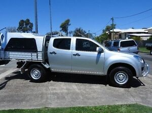 2013 Isuzu D-MAX (No Series) SX Silver 5 Speed Sports Automatic Cab Chassis Morningside Brisbane South East Preview