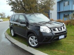 2013 Nissan X-Trail T31 Series V ST 2WD Black 1 Speed Constant Variable Wagon East Rockingham Rockingham Area Preview