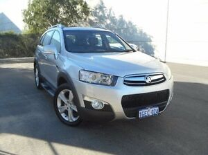 2013 Holden Captiva CG MY13 7 AWD LX Silver 6 Speed Sports Automatic Wagon East Rockingham Rockingham Area Preview