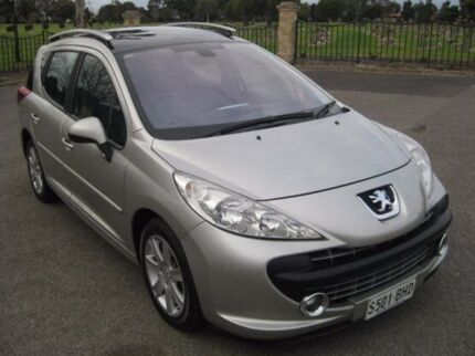 2007 Peugeot 207 A7 XT Touring 4 Speed Auto Seq Sportshift Wagon Enfield Port Adelaide Area Preview