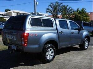 2013 Isuzu D-MAX MY12 LS-M Crew Cab Silver 5 Speed Manual Utility Wynnum Brisbane South East Preview