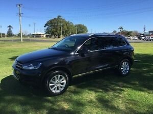 2011 Volkswagen Touareg 7L MY10 V6 TDI Black 6 Speed Sports Automatic Wagon East Kempsey Kempsey Area Preview