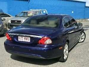 2009 Jaguar X-Type X400 MY09 LE Purple 5 Speed Automatic Sedan