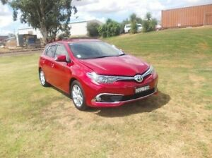 2015 Toyota Corolla ZRE182R Ascent Sport S-CVT Red 7 Speed Constant Variable Hatchback Dubbo Dubbo Area Preview