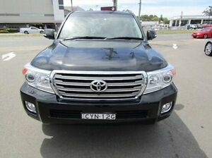 2015 Toyota Landcruiser VDJ200R MY13 Sahara Black 6 Speed Sports Automatic Wagon Cardiff Lake Macquarie Area Preview