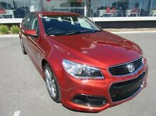 2014 Holden Commodore VF MY15 SV6 Sportwagon Red 6 Speed Sports Automatic Wagon Mandurah Mandurah Area Preview