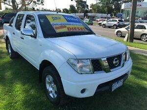 2006 Nissan Navara D40 ST-X White 5 Speed Automatic Utility Ferntree Gully Knox Area Preview