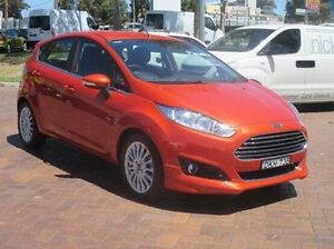 2015 Ford Fiesta WZ MY15 Sport PwrShift Red 6 Speed Sports Automatic Dual Clutch Hatchback Baulkham Hills The Hills District Preview