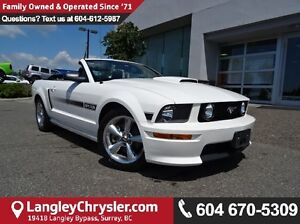 2008 Ford Mustang GT CALIFORNIA SPECIAL  CONVERTIBLE W/ NAVIG...