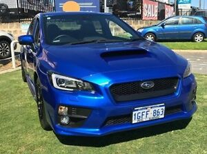 2016 Subaru WRX V1 MY17 Premium Lineartronic AWD Blue 8 Speed Constant Variable Sedan Mandurah Mandurah Area Preview