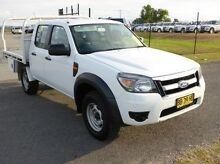 2009 Ford Ranger PK XL Crew Cab White 5 Speed Manual Utility Singleton Singleton Area Preview