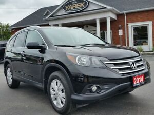 2014 Honda CR-V Touring AWD, Leather Heated Seats, NAV, Sunroof,