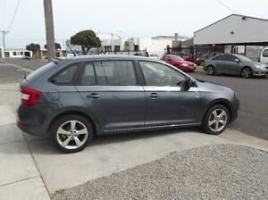 2014 Skoda Rapid NH MY14 Ambition Spaceback DSG Grey 7 Speed Sports Automatic Dual Clutch Hatchback Seaford Frankston Area Preview