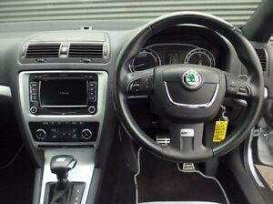 2010 Skoda Octavia 1Z MY11 RS DSG 147TSI Silver 6 Speed Sports Automatic Dual Clutch Wagon Cooee Burnie Area Preview