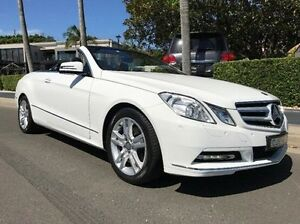 2012 Mercedes-Benz E250 A207 MY12 BlueEFFICIENCY 7G-Tronic + Avantgarde White 7 Speed Summer Hill Ashfield Area Preview