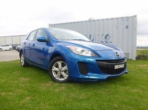 2012 Mazda 3 BL10F2 Neo Activematic Blue 5 Speed Sports Automatic Hatchback Singleton Singleton Area Preview