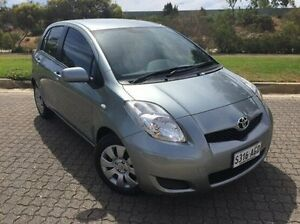 2009 Toyota Yaris NCP91R MY09 YRS Silver 4 Speed Automatic Hatchback Ingle Farm Salisbury Area Preview