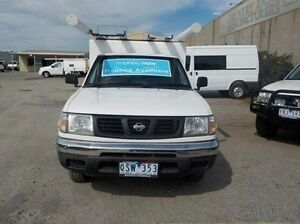 2000 Nissan Navara White Automatic Cab Chassis Pakenham Cardinia Area Preview