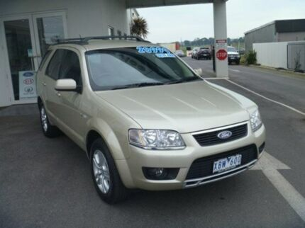 2009 Ford Territory SY Mkii TS AWD Gold 6 Speed Auto Seq Sportshift Wagon Morwell Latrobe Valley Preview