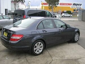 2008 Mercedes-Benz C200 Kompressor W204 Classic Charcoal 5 Speed Automatic Sedan Woodbine Campbelltown Area Preview