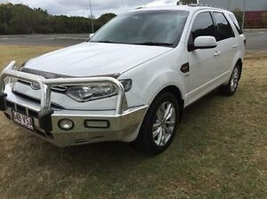 2011 Ford Territory SZ TS Seq Sport Shift White 6 Speed Sports Automatic Wagon Maryborough Fraser Coast Preview