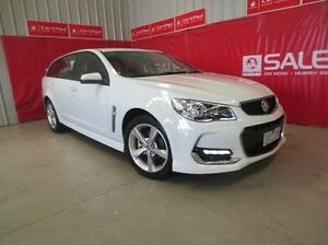 2016 Holden Commodore VF II MY16 SV6 Sportwagon White 6 Speed Sports Automatic Wagon Coolaroo Hume Area Preview