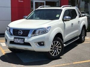 2016 Nissan Navara D23 ST-X 4x2 White 7 Speed Sports Automatic Utility Meadow Heights Hume Area Preview