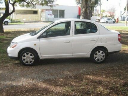 1999 Toyota Echo NCP12R White 4 Speed Automatic Sedan Beverley Charles Sturt Area Preview