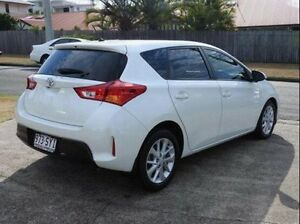 2013 Toyota Corolla ZRE182R Ascent Sport S-CVT White 7 Speed Constant Variable Hatchback Wynnum Brisbane South East Preview
