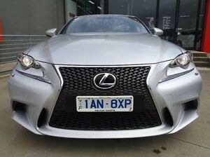 2013 Lexus IS250 GSE30R F Sport Silver 6 Speed Automatic Sedan Melton Melton Area Preview