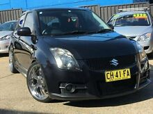 2006 Suzuki Swift RS416 Sport Black 5 Speed Manual Hatchback Kings Park Blacktown Area Preview