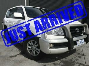 2008 Toyota Landcruiser VDJ200R GXL White 6 Speed Sports Automatic Wagon Derwent Park Glenorchy Area Preview