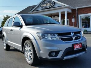 2017 Dodge Journey GT AWD, NAV, DVD, Leather Heated Seats/Wheel,